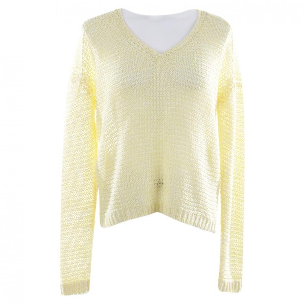 Iris Von Arnim - Pull   pour femme en coton - jaune