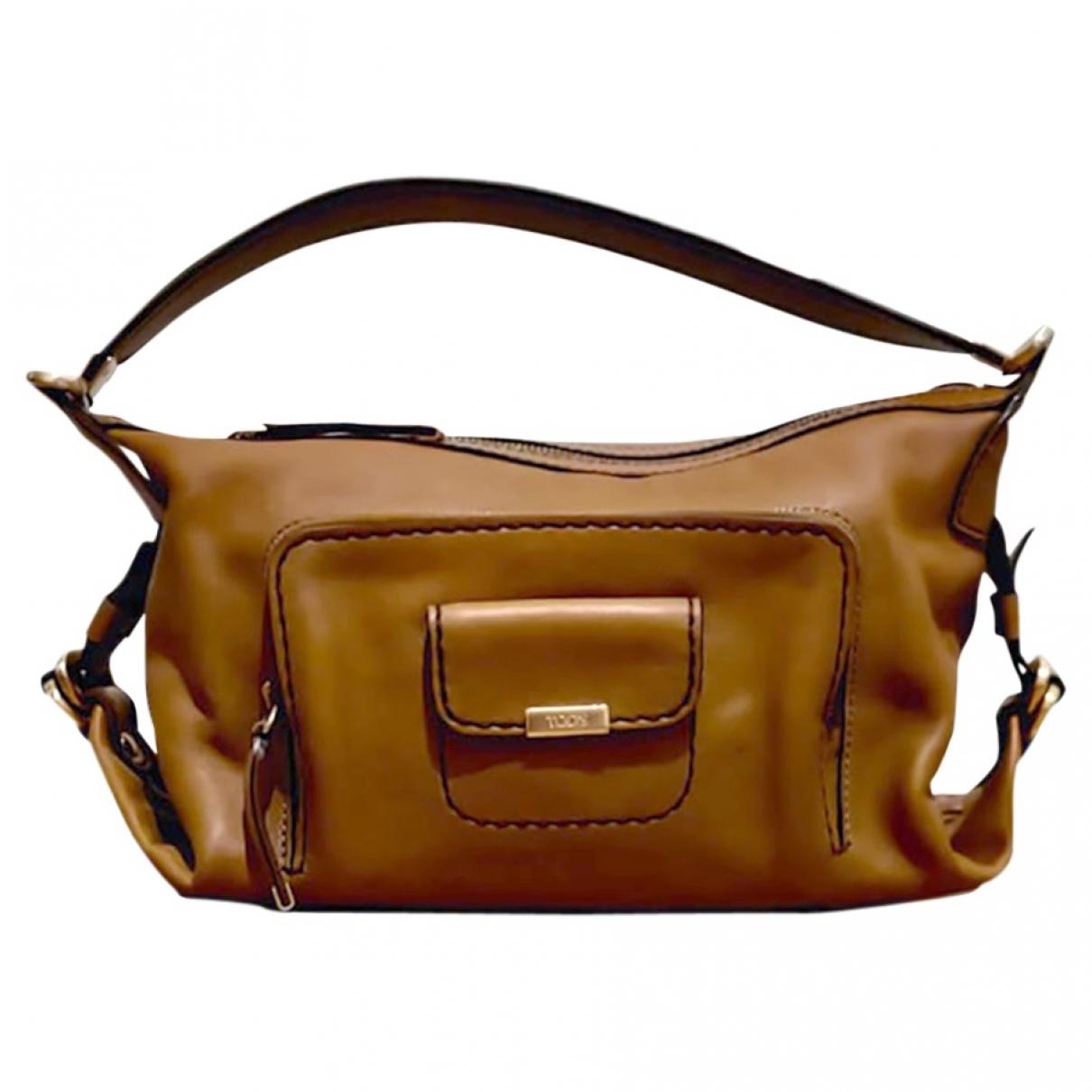 Tod's \N Handtasche in  Kamel Leder