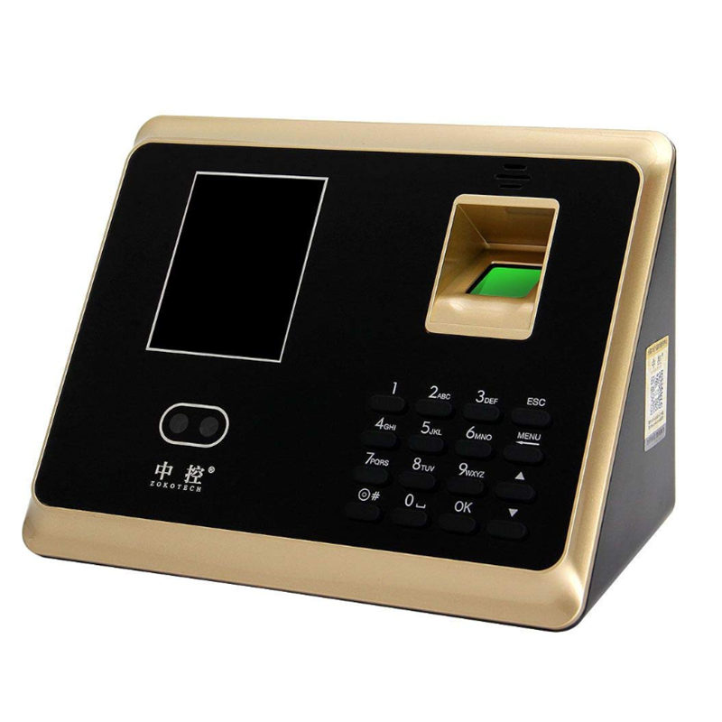 ZOKOTECH ZK-TA50 Face Fingerprint Password ID Card Recognition Time Attendance Machine 2.8 Inches TFT Screen Checking-in