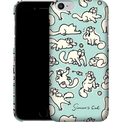 Apple iPhone 6s Plus Smartphone Huelle - Simon´s Cat Green Pattern von Simons Cat