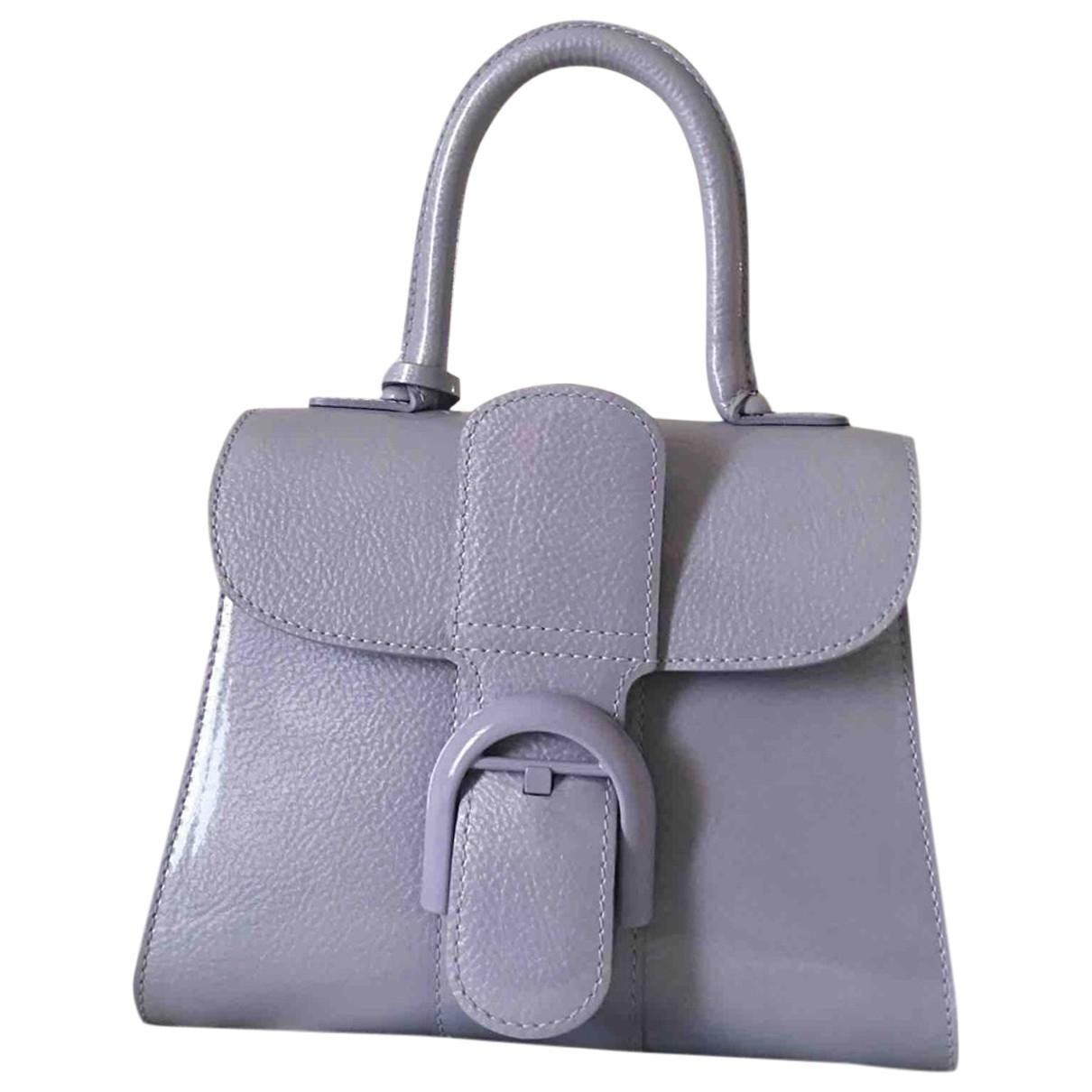Delvaux - Sac a main Le Brillant pour femme en cuir verni - violet