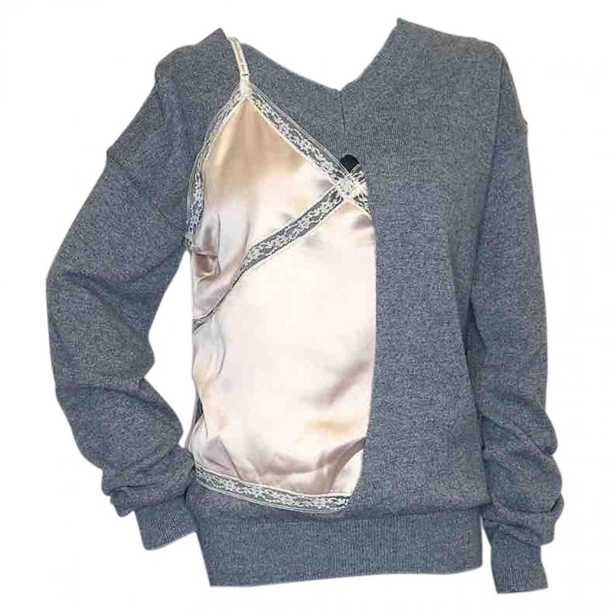 Alexander Wang - Pull   pour femme en laine - gris