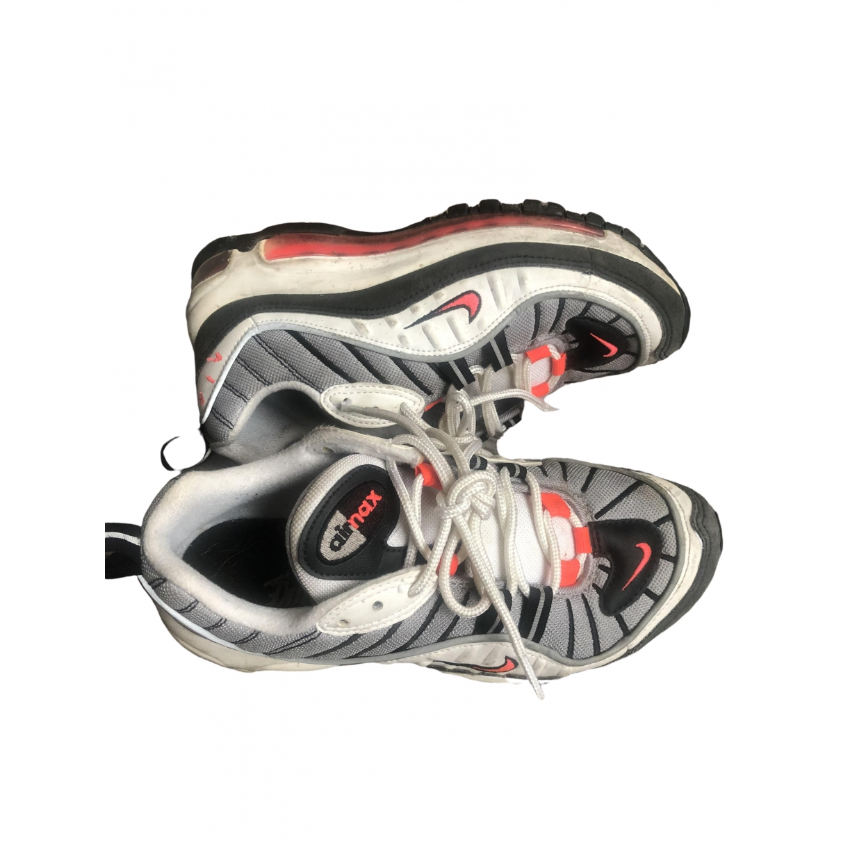 Nike Air Max 98 Grey Cloth Trainers for Women 37.5 EU