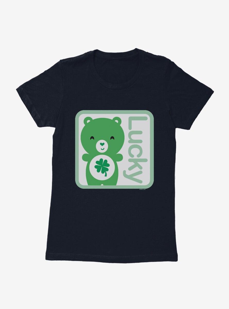 Care Bears Cartoon Good Luck Lucky Womens T-Shirt