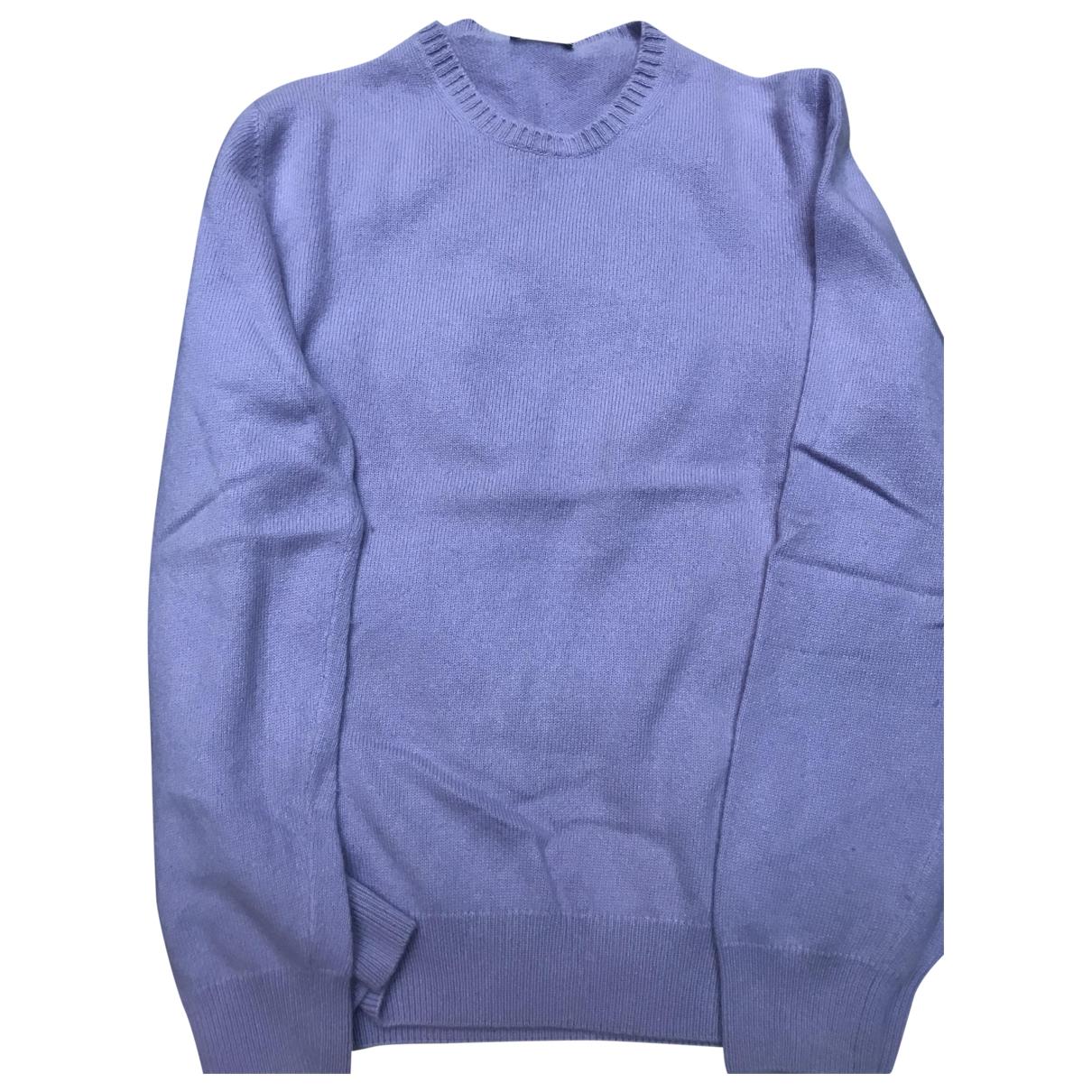 Non Signe / Unsigned \N Pullover.Westen.Sweatshirts  in  Lila Kaschmir