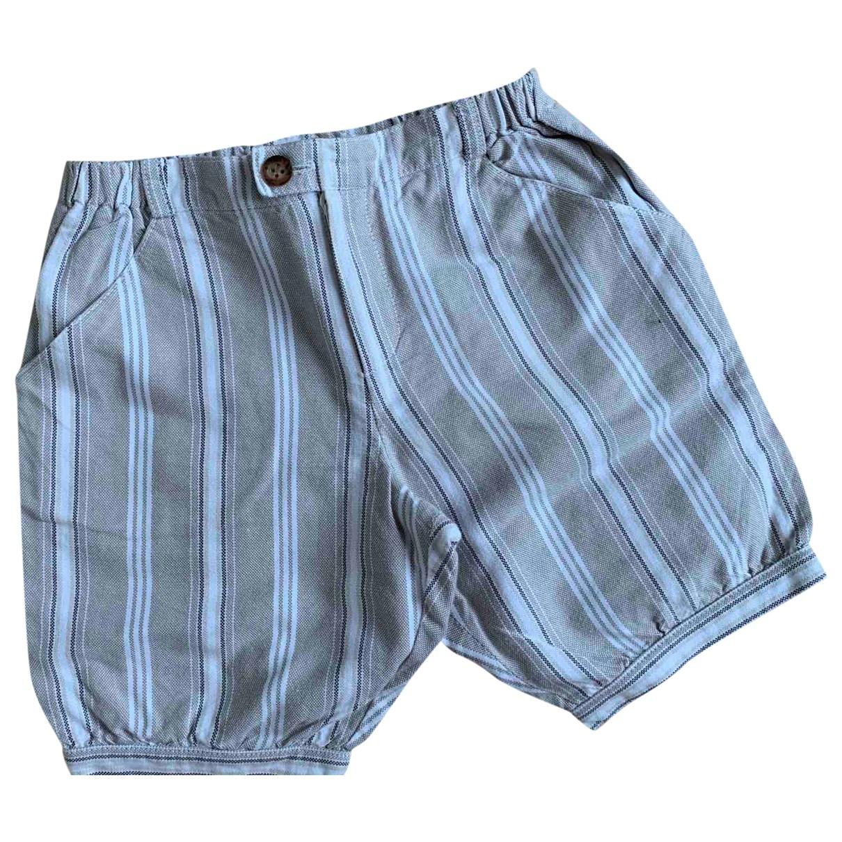 Poeme \N Shorts in  Beige Baumwolle