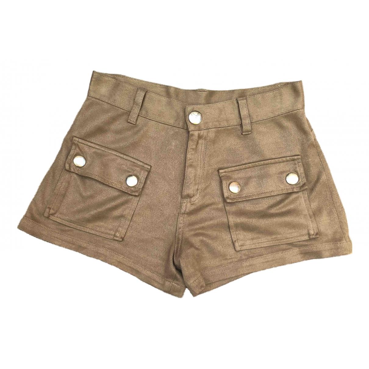 Sonia Rykiel \N Shorts in  Kamel Polyester