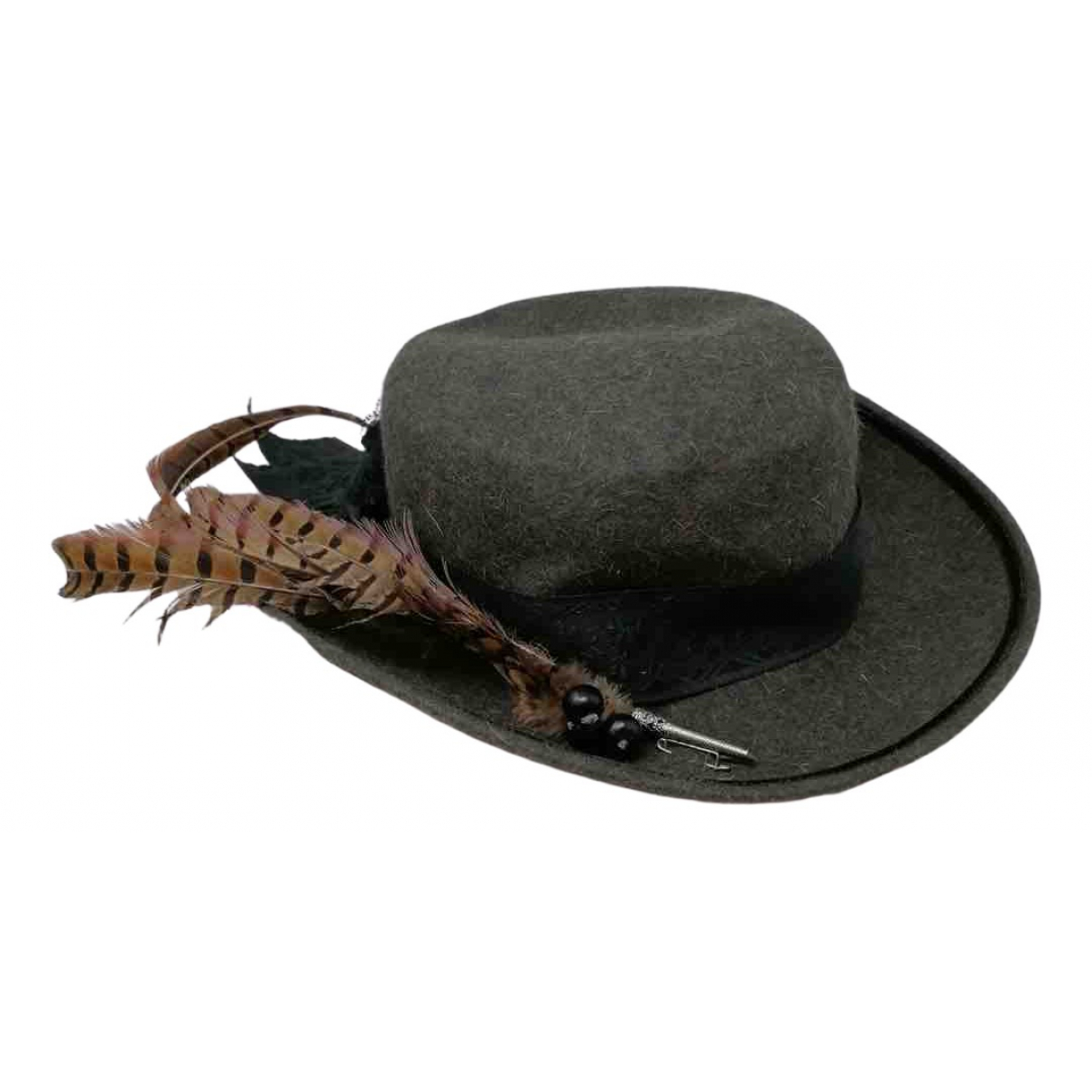 - Chapeau   pour femme en laine - vert