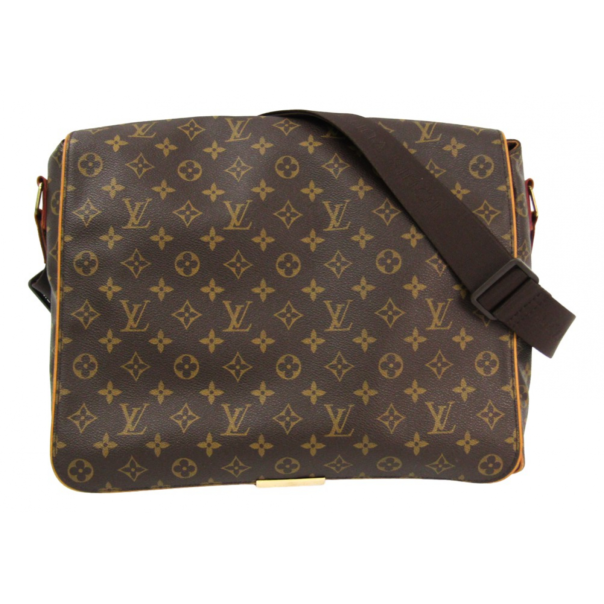 Louis Vuitton Abbesses Messenger Brown Cloth bag for Men N