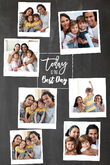 Everyday 12x18 Adhesive Poster, Home Décor -Best Day Ever