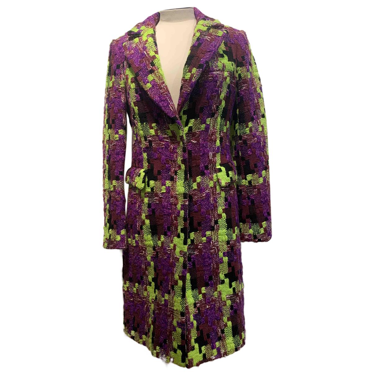 Balmain N Multicolour Wool coat for Women 36 FR