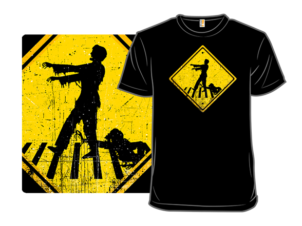 Zombies Crossing T Shirt