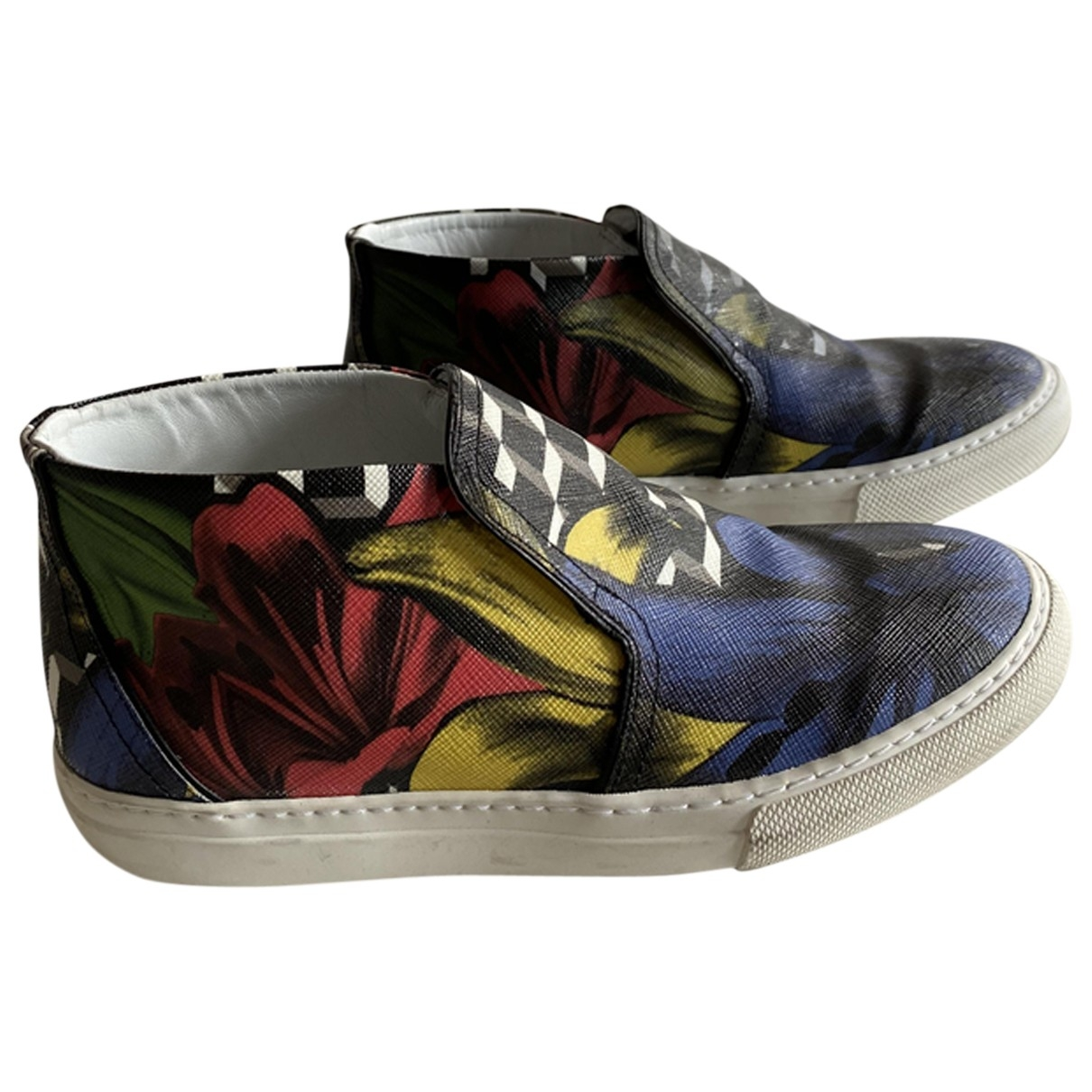Pierre Hardy \N Multicolour Leather Trainers for Women 37 EU