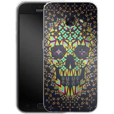 Samsung Galaxy A3 (2017) Silikon Handyhuelle - Skull 6 von Ali Gulec