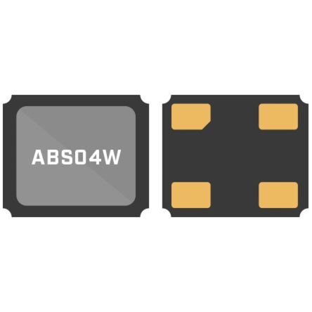 Abracon 32.76kHz Crystal Unit ±10ppm SMD 4-Pin 1.2 x 1 x 0.35mm (5000)