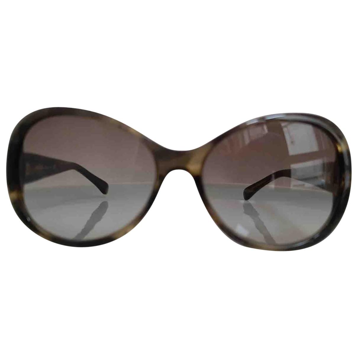 Chanel \N Sonnenbrillen in  Khaki Kunststoff