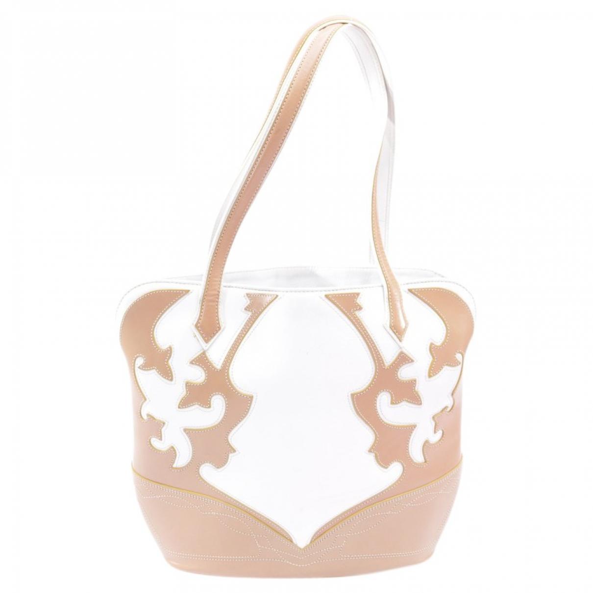 Etro \N Beige Leather handbag for Women \N