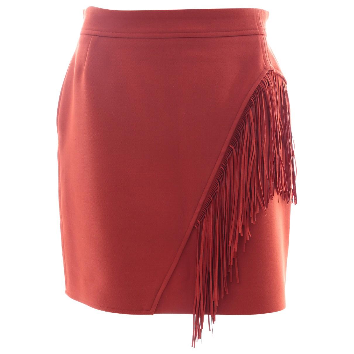 Maje \N Red skirt for Women 40 FR