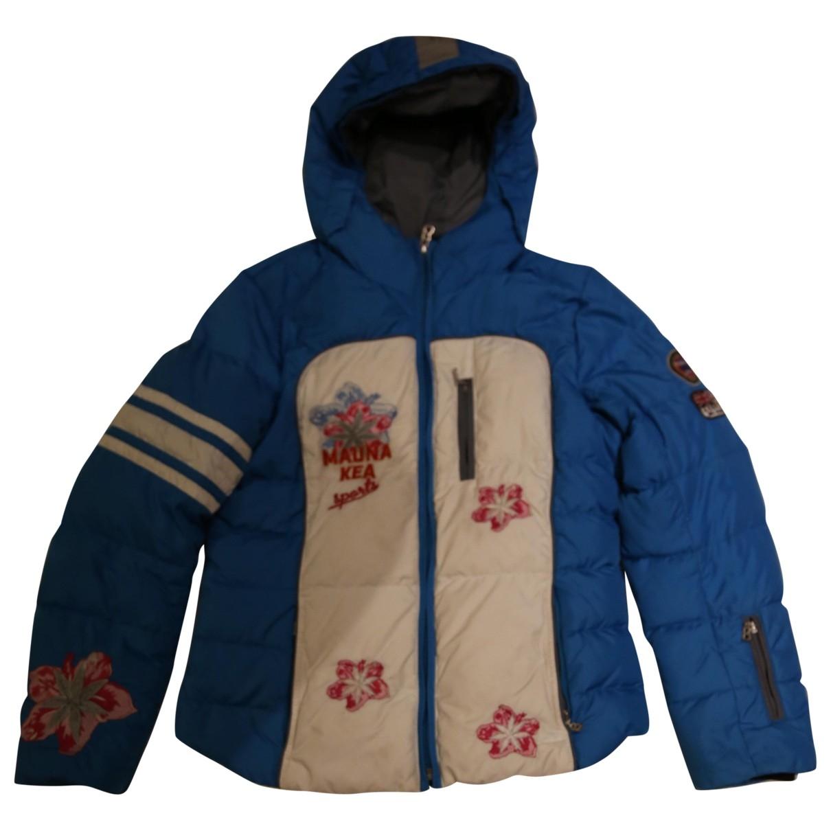 Bogner - Blousons.Manteaux   pour enfant en fourrure synthetique - bleu