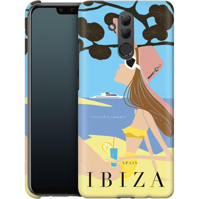 Huawei Mate 20 Lite Smartphone Huelle - IBIZA TRAVEL POSTER von IRMA