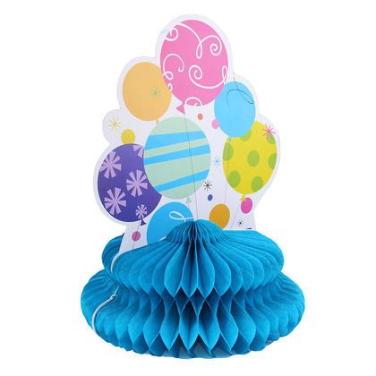 Party Nappe de papier de soie nid d'abeille Table ma�tresse de table D�coration de f�te