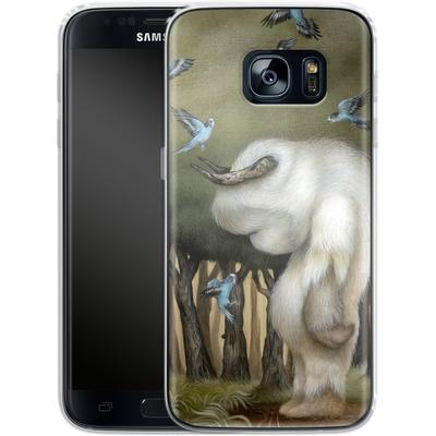 Samsung Galaxy S7 Silikon Handyhuelle - Until We Meet Again von Dan May