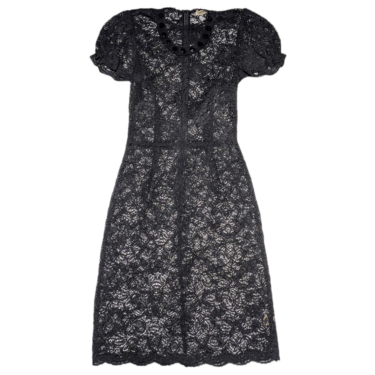 Lagence - Robe   pour femme en dentelle - noir