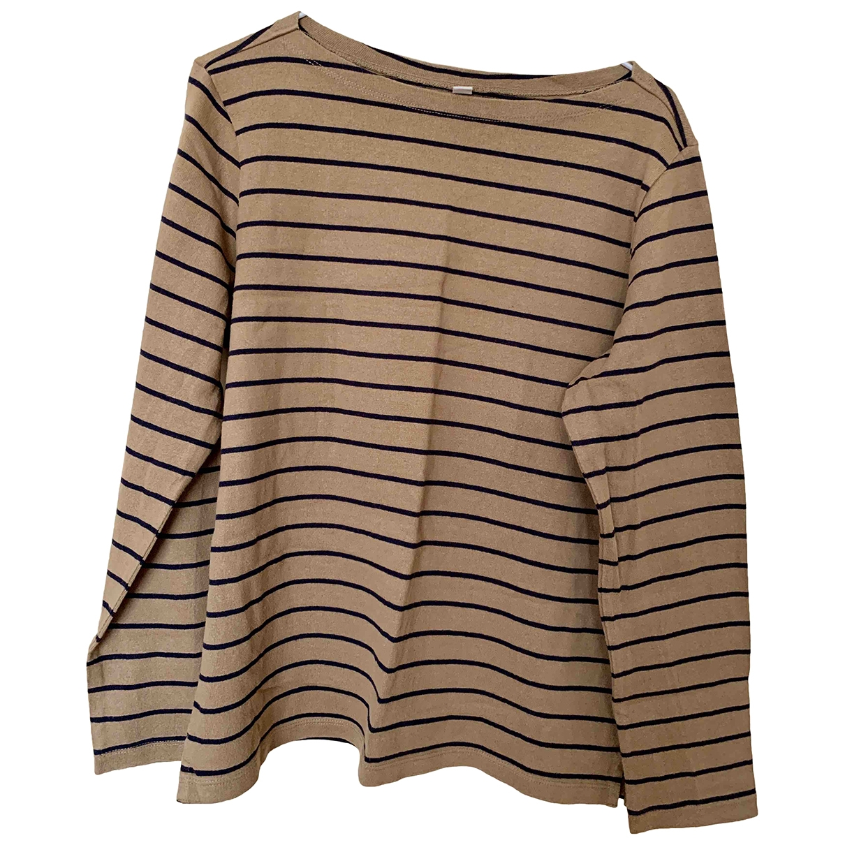 Uniqlo \N Camel Cotton  top for Women L International