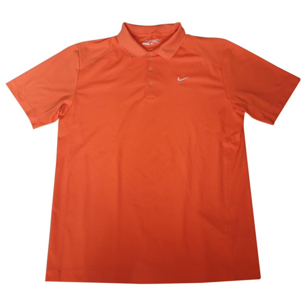 Nike - Polos   pour homme - orange