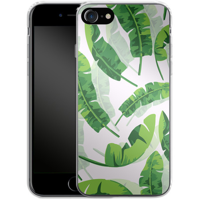 Apple iPhone 8 Silikon Handyhuelle - Banana Leaf von Mukta Lata Barua