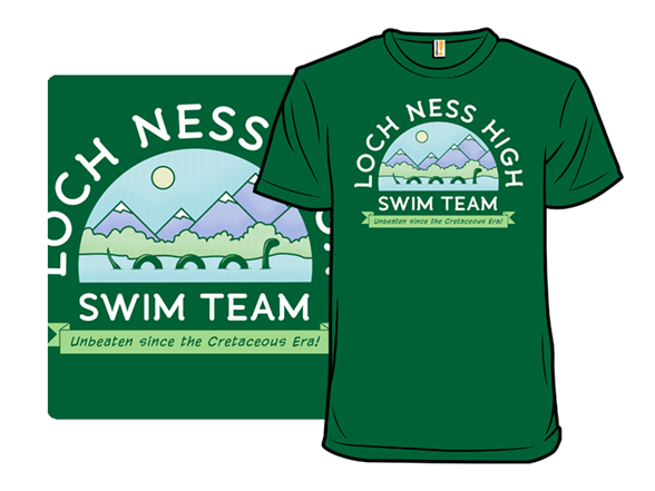 Loch Ness Swim Team T Shirt