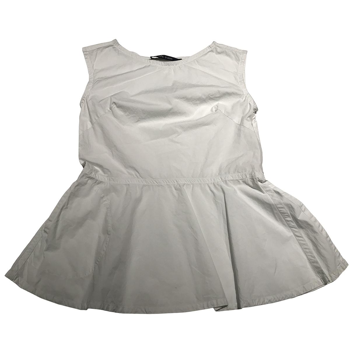 Sofie Dhoore - Top   pour femme en coton - blanc