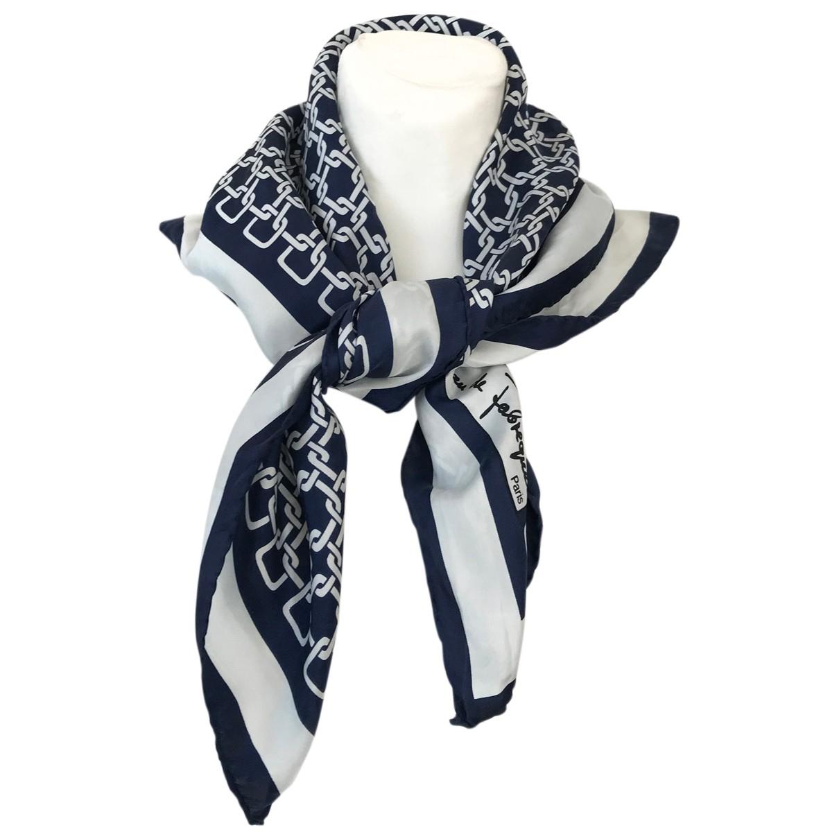 Autre Marque N Navy Silk scarf for Women N