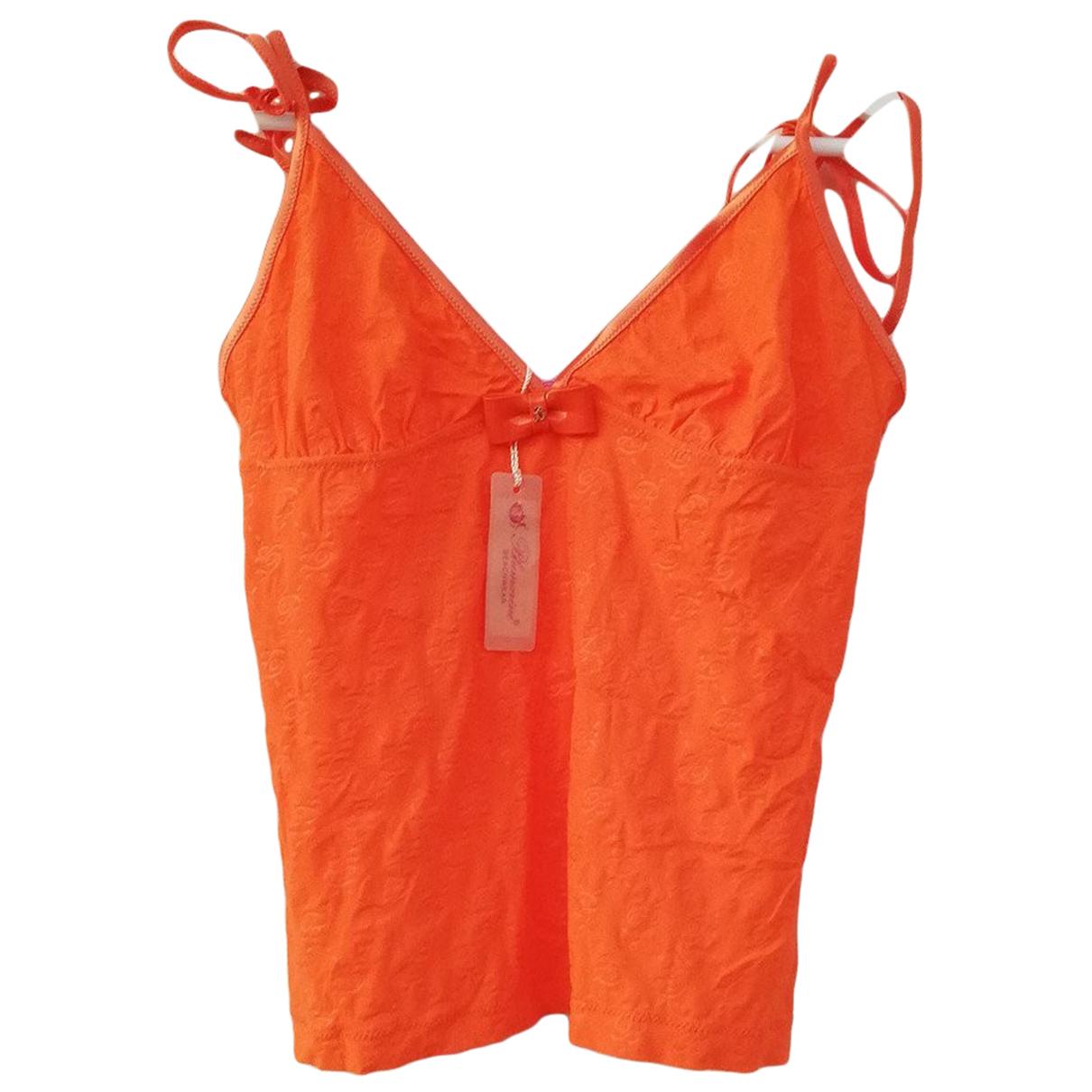 Blumarine \N Badeanzug in  Orange Synthetik