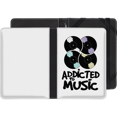 Kobo Glo eBook Reader Huelle - Addicted To Music von Claus-Peter Schops