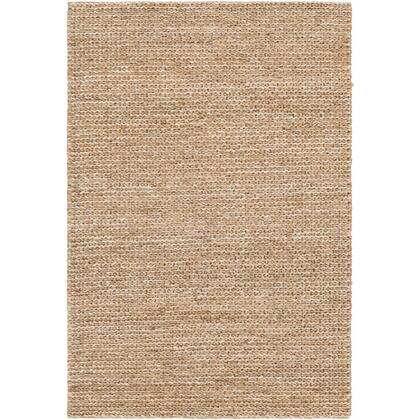 Haraz HRA-1003 8' x 10' Rectangle Cottage Rug in Tan