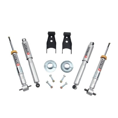 Belltech 1003SP +1 to -3inch Front 4inch Rear Lowering Kit w/ SP Shocks Ford F-150 All Cabs Short Bed 2/4WD 2014