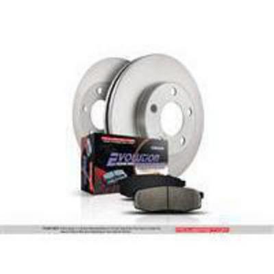 Power Stop 1-Click OE Replacement Rear Brake Kits - KOE2197