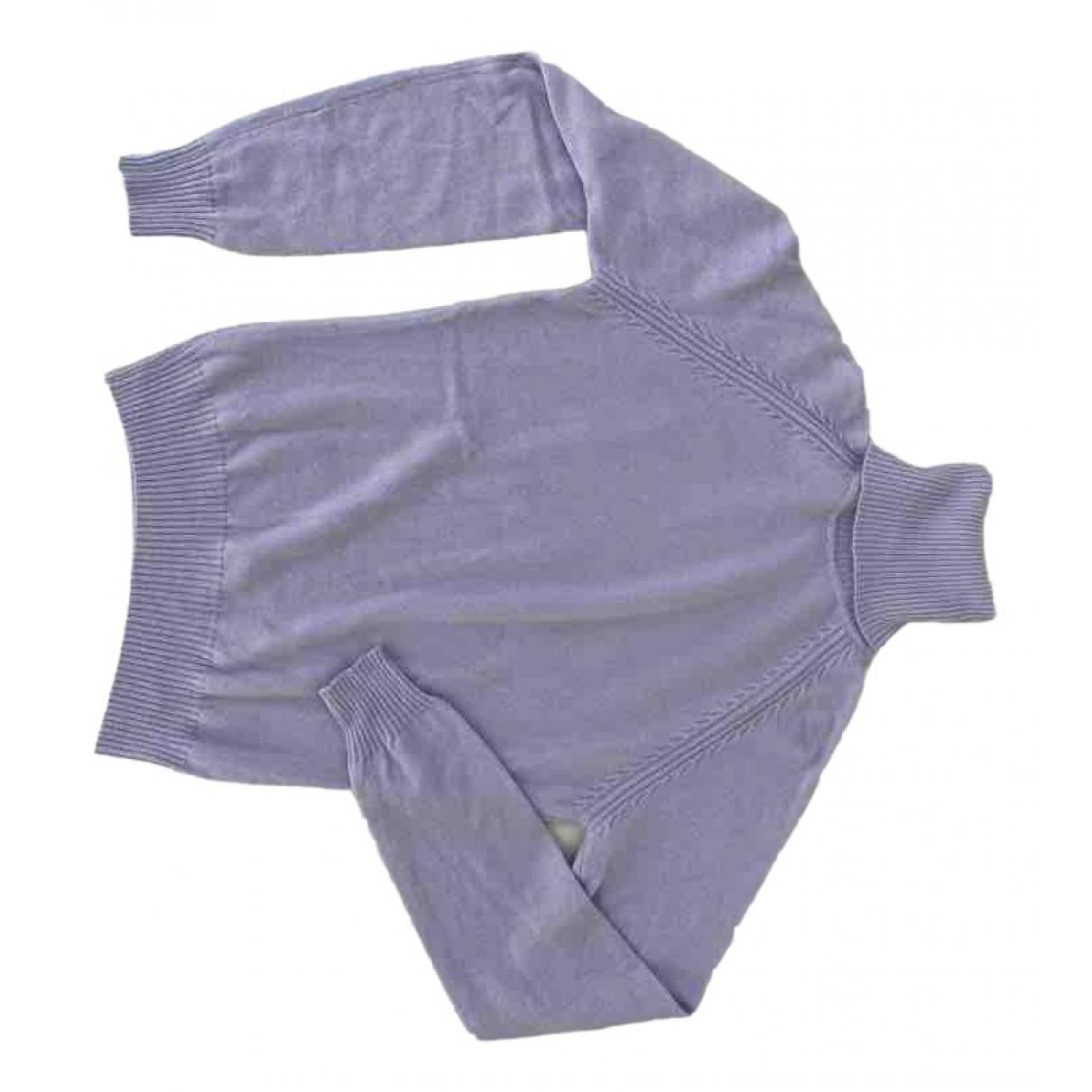 Loro Piana \N Purple Cashmere Knitwear for Women 40 IT