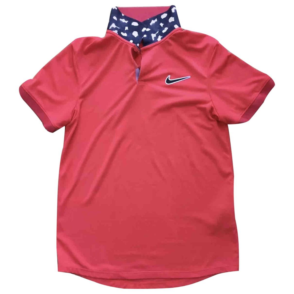 Nike \N Poloshirts in  Orange Synthetik