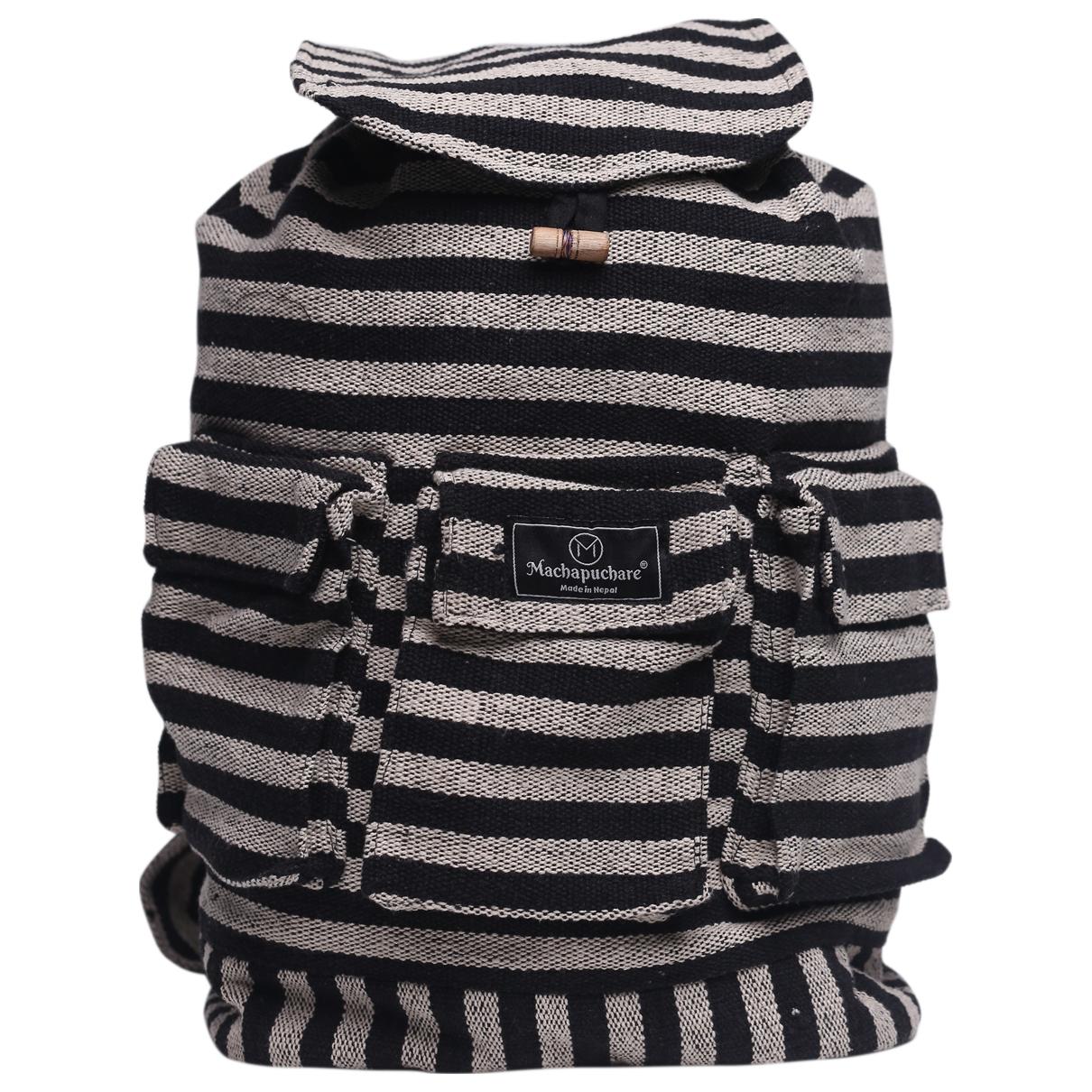 Non Signe / Unsigned \N Taschen in  Schwarz Baumwolle