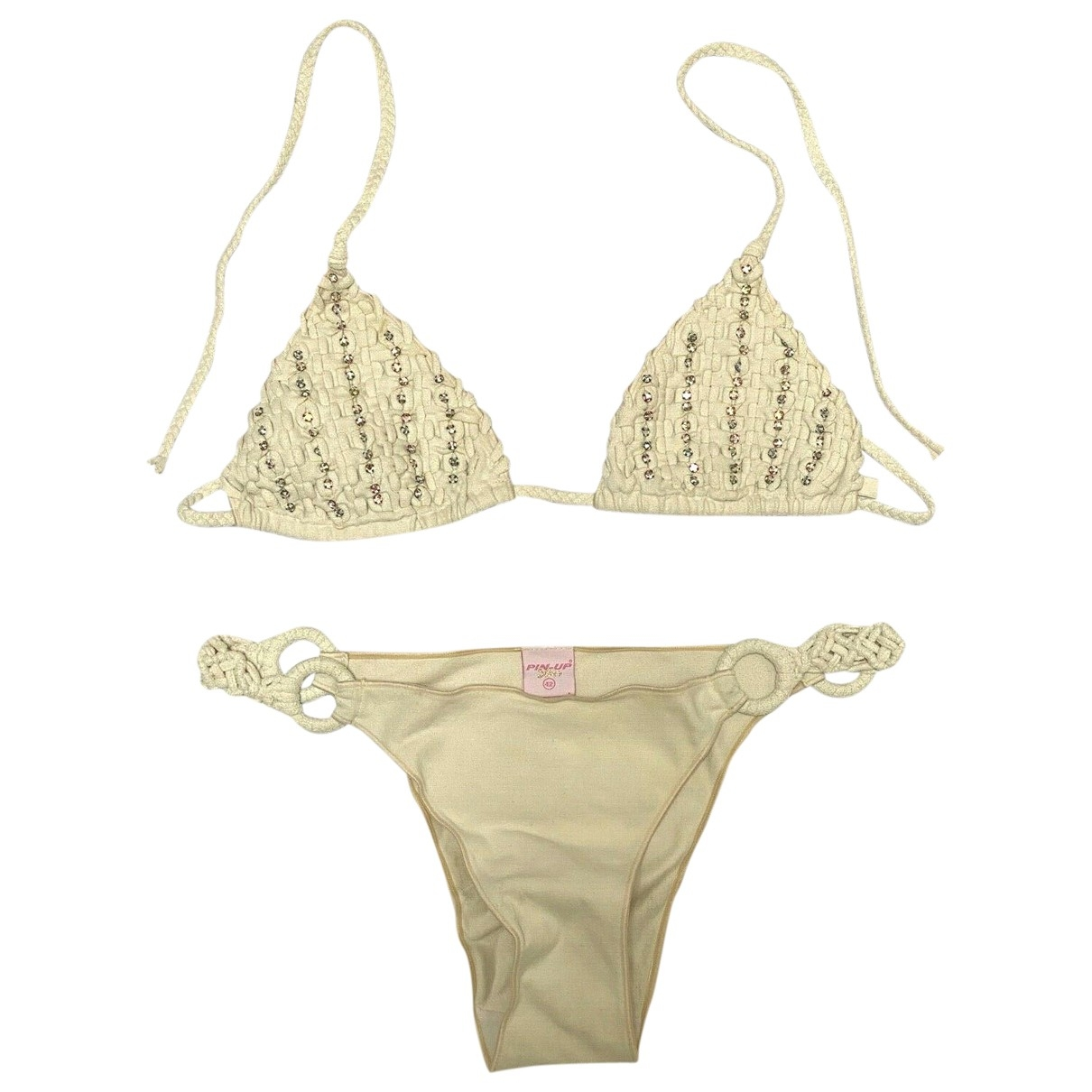 Non Signé / Unsigned \N White Swimwear for Women 42 IT