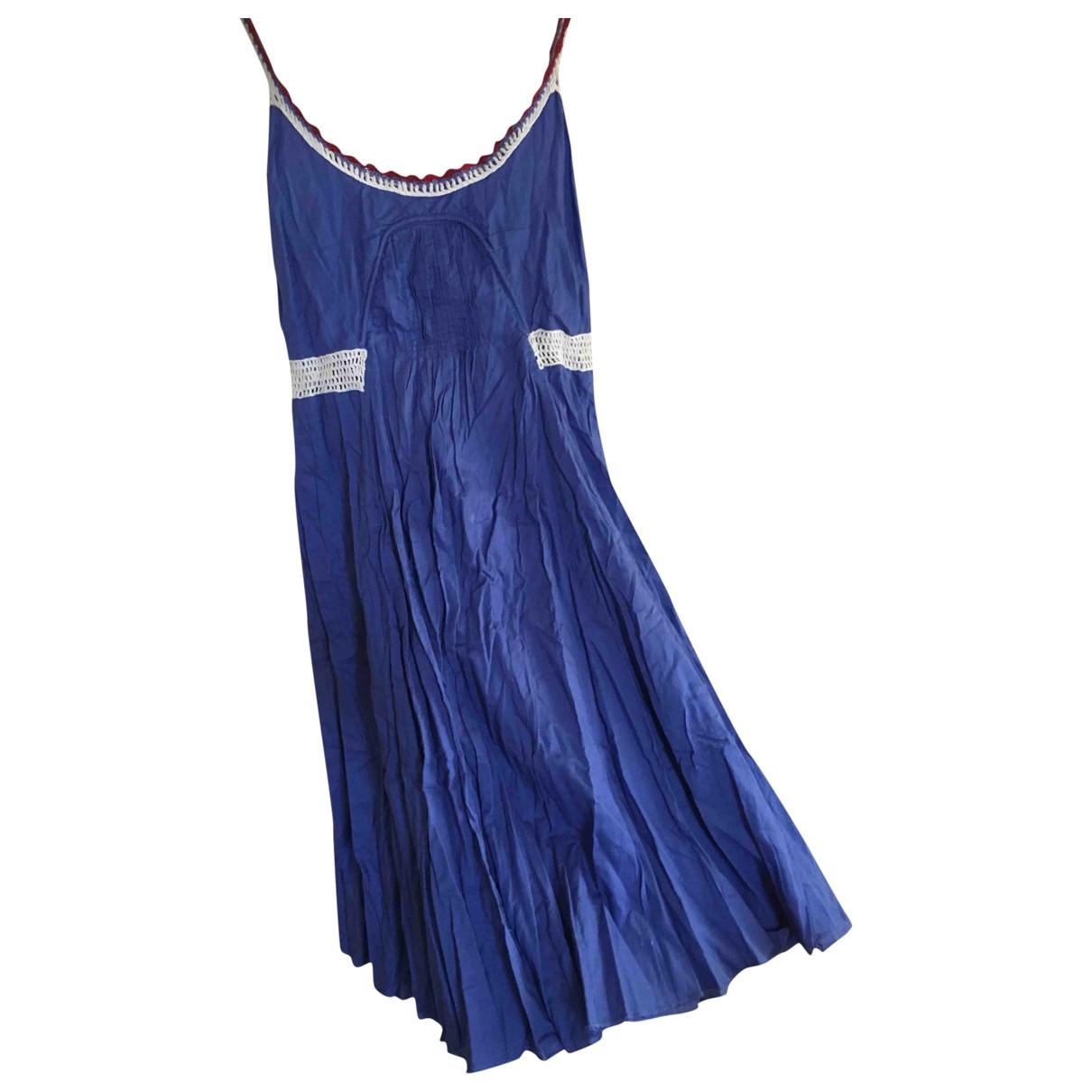 Stefanel \N Multicolour Cotton dress for Women 42 IT