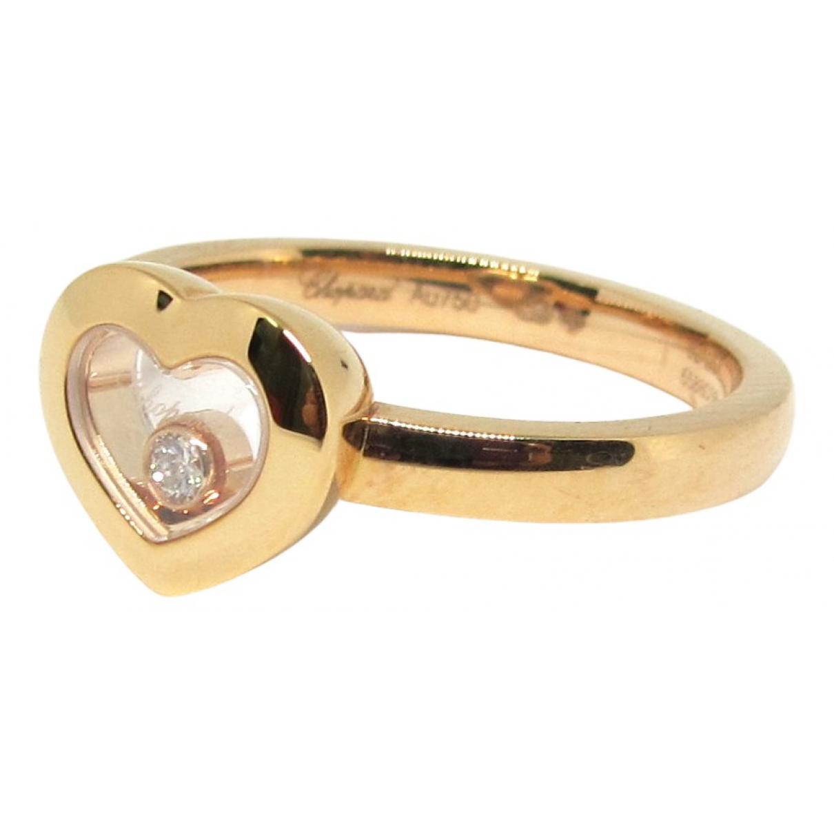 Chopard Happy Diamonds Ring in  Gold Rosegold
