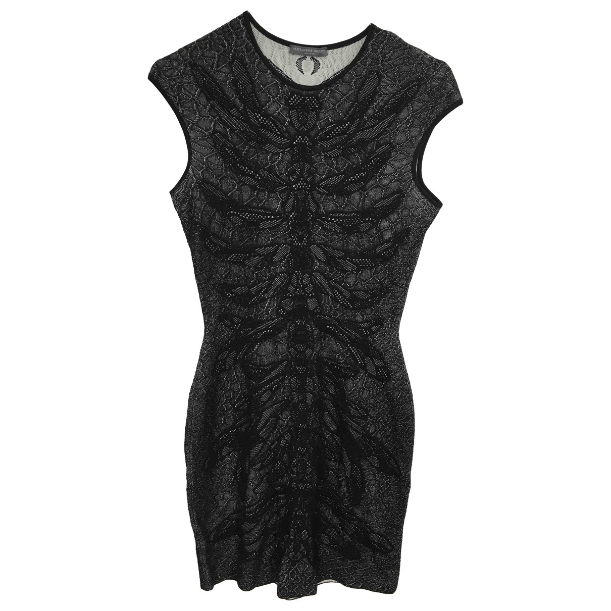 Alexander Mcqueen \N Black Silk dress for Women S International