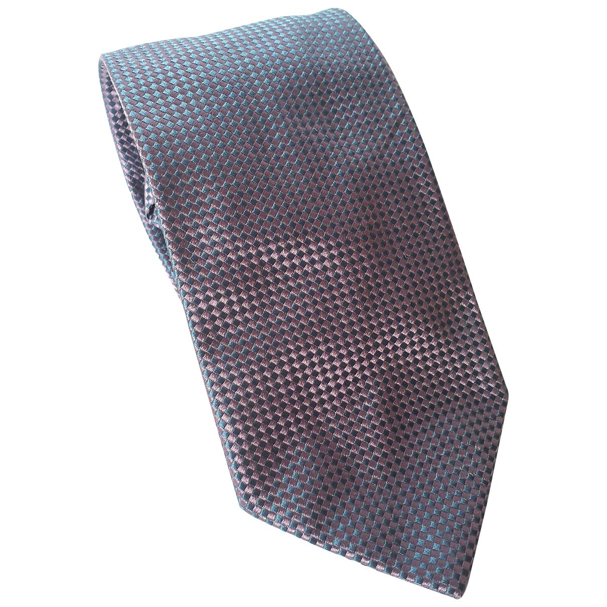 Mulberry \N Krawatten in  Lila Seide