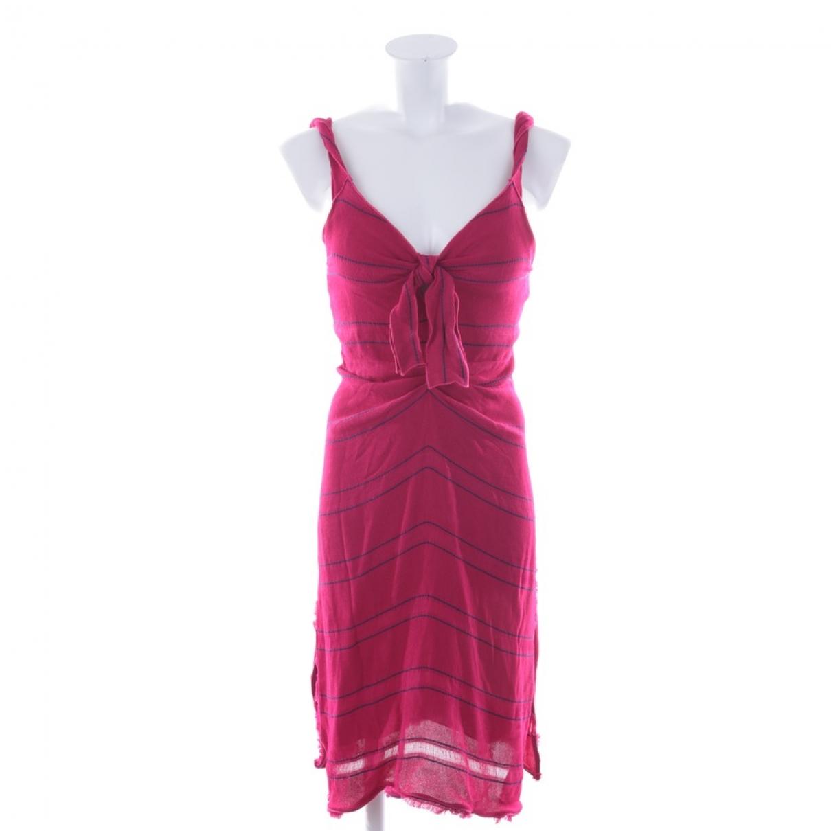 Proenza Schouler - Robe   pour femme en coton - rouge