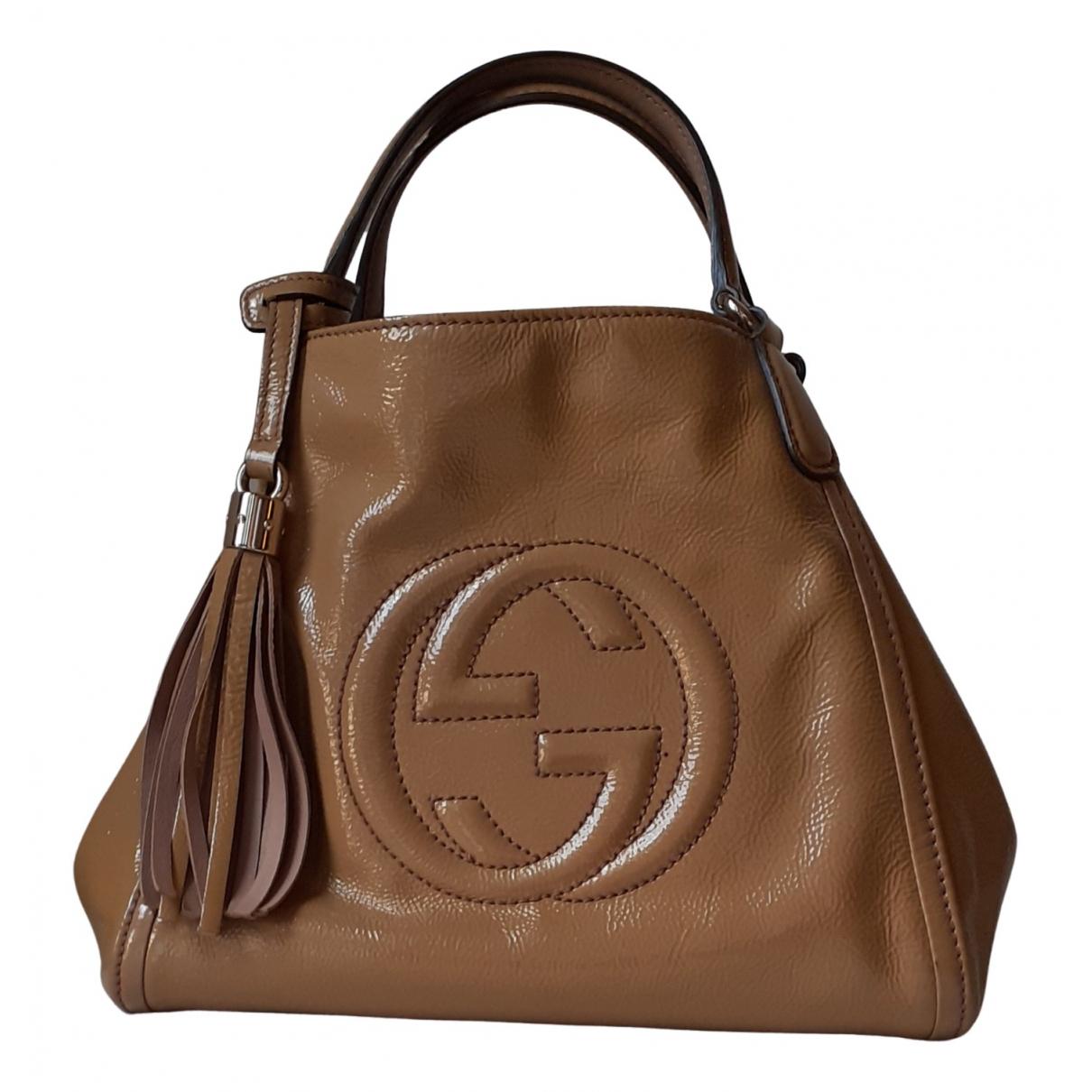 Bolso  Soho de Charol Gucci