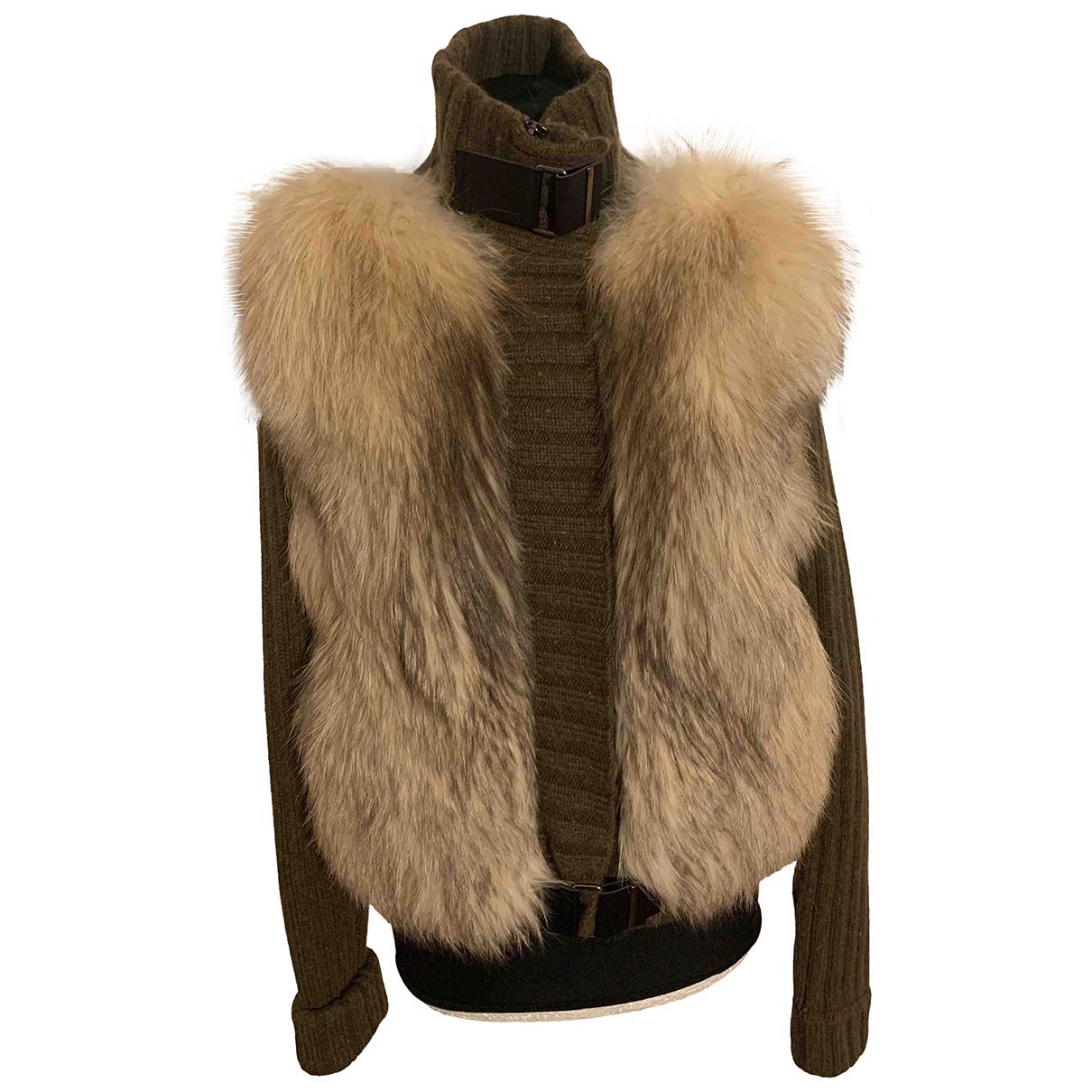 Hôtel Particulier N Brown Fox jacket for Women S International