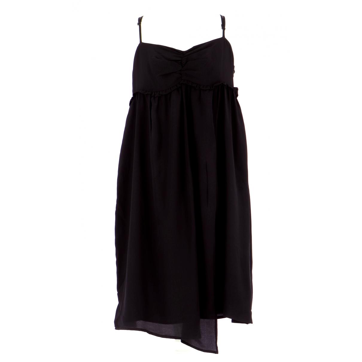 Ikks \N Kleid in  Schwarz Seide